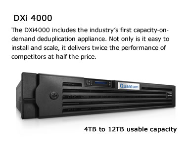 Quantum DXi 4000 Image and Overview