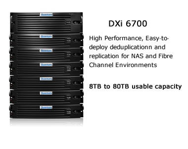 Quantum DXi 6700 Image and Overview