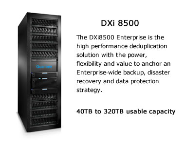 Quantum DXi 8500 Image and Overview