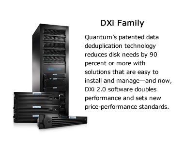 Quantum DXi Family Image and Overview
